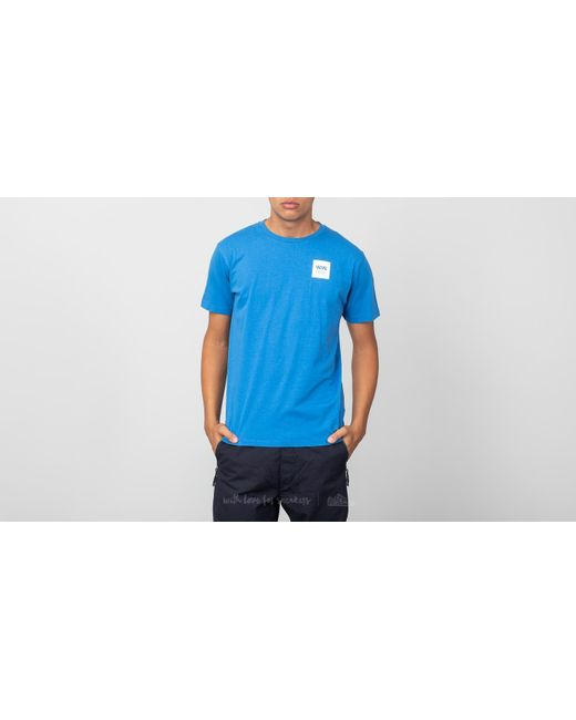 25b8b9dfc Lyst - WOOD WOOD Box Tee Bright Blue in Blue for Men - Save 21%