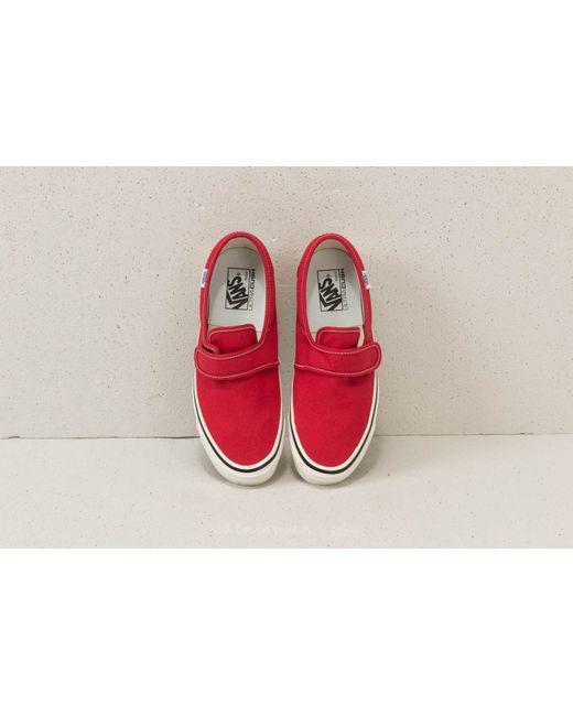 489b13daec7b Lyst - Vans Slip-on 47 V Dx (anaheim Factory) Og Red in Red for Men