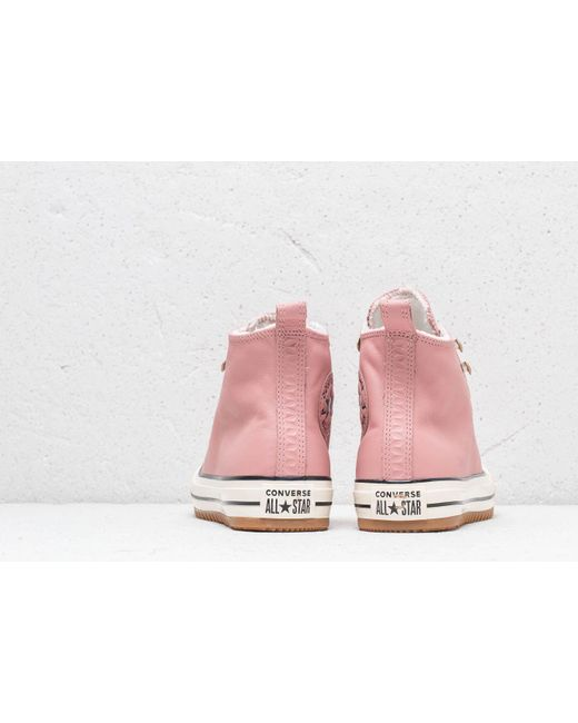 15046340676 ... Converse - Chuck Taylor All Stars Hiker Boot High Rust Pink  Pink Pop -  Lyst ...