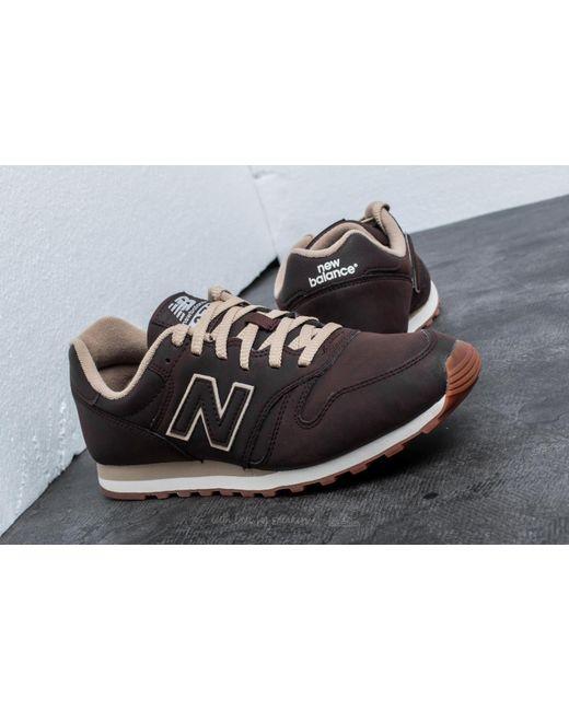 new balance 373 brown