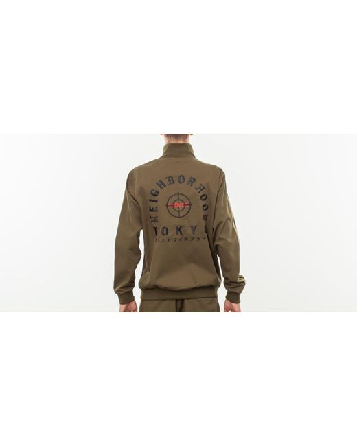 55211fe7abc7 ... Adidas Originals - Green Adidas X Neighborhood Track Top Trace Olive  for Men - Lyst ...