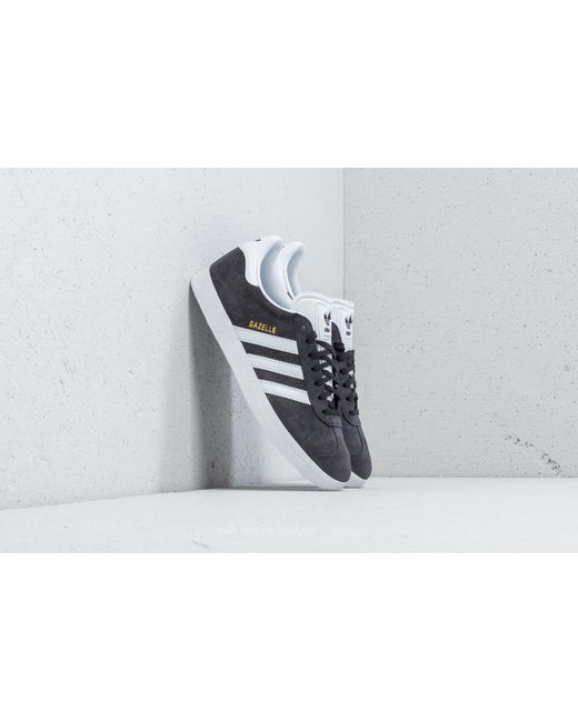 Lyst adidas Originals Gazelle Adidas Solid GRIS / blanco / Gold