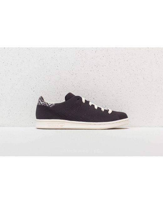 STAN SMITH PRIMEKNIT - Sneaker low - carbon/chalk white Manchester Günstiger Preis Hohe Qualität Zu Verkaufen Komfortabel Günstig Online Rabatt Kaufen QV53JzD