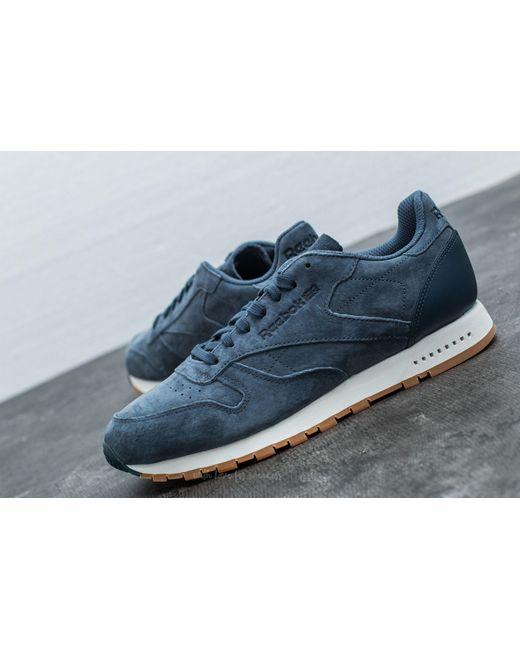 5f740c9c1b0 Reebok Blue Classic Leather Sg Smoky Indigo Chalk-gum for Men Lyst ...