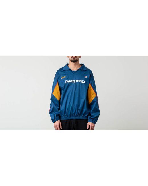 78292d2b3aa Reebok - Blue X Pyer Moss Vector Top Jacket Bunblu for Men - Lyst ...