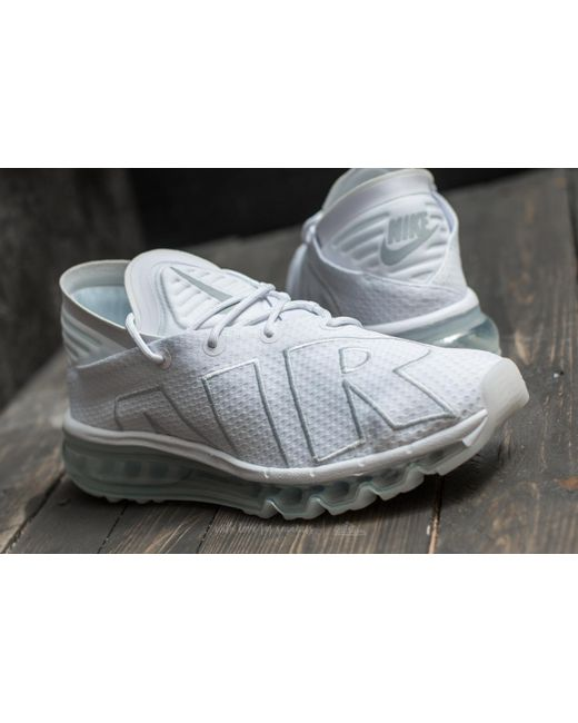 ... Nike | Multicolor Air Max Flair White/ Pure Platinum for Men | Lyst ...