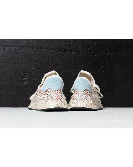 1abed4746 adidas OriginalsDEERUPT PRIDE - Trainers - cream white ash grey core black