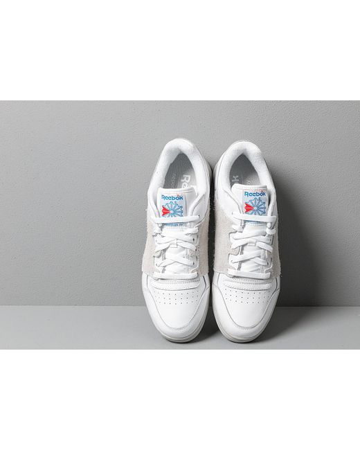 ff4c8fb0ced ... Reebok - Reebok Workout Plus Nepenthes White  Steel  Blue  Core - Lyst  ...