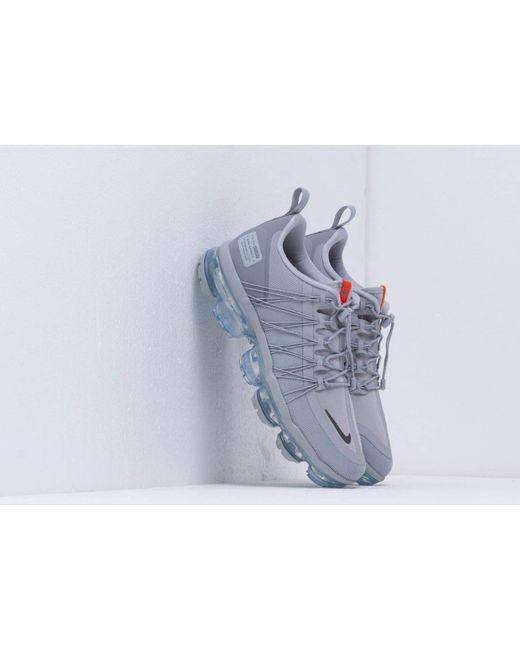 sale retailer 56d3e 9ce48 Nike - Gray Air Vapormax Run Utility Wolf Grey  Cool Grey-team Orange for  ...