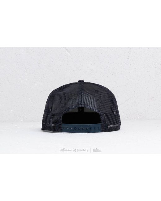 4cac9491a62 ... KTZ - Blue 9fifty Mlb Essential New York Yankees Trucker Cap Navy for  Men - Lyst ...