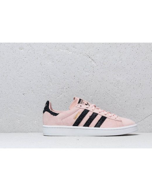 factory authentic e4107 11b3a ... Adidas Originals - Adidas Campus W Ice Pink  Core Black  Crystal White  - Lyst ...