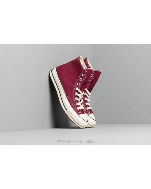 2c86ff6cecd1 Converse - Red Chuck 70 Dark Burgundy  Black  Egret for Men - Lyst ...