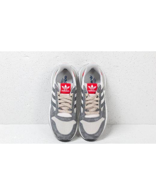46cf225af4f8e ... Adidas Originals - Gray Adidas Zx 500 Rm Grey Four  Ftw White  Scarlet  for ...