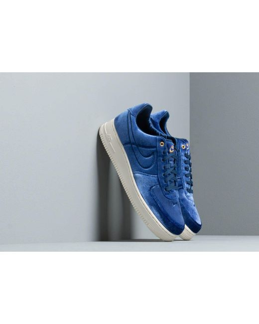 b52e5074ffe42 Lyst - Nike Air Force 1  07 Prm 3 Blue Void  Blue Void-sail-metallic ...