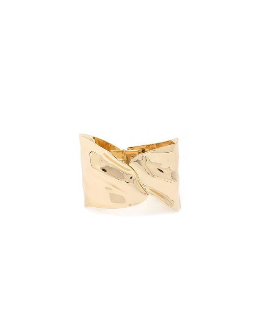 Forever 21 - Metallic Carved Hinge Cuff Bracelet - Lyst