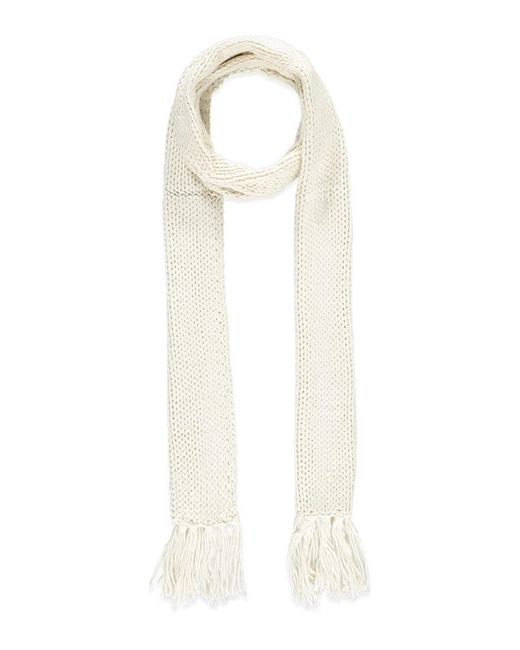 Forever 21 | Natural Oblong Fringed Scarf | Lyst