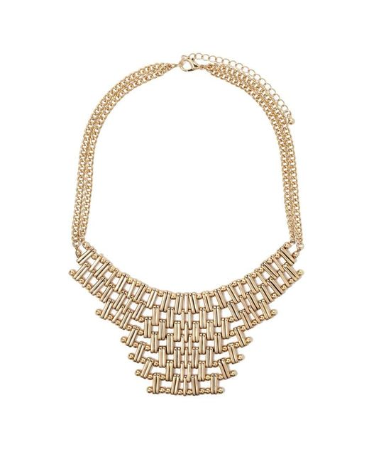 Forever 21 | Metallic Chain Link Statement Necklace | Lyst