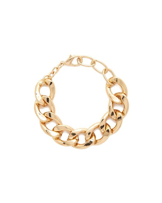 Forever 21   Metallic Curb Chain Bracelet   Lyst