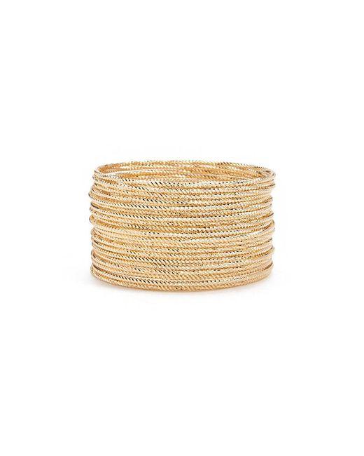 Forever 21 - Metallic Textured Bangle Bracelet Set - Lyst