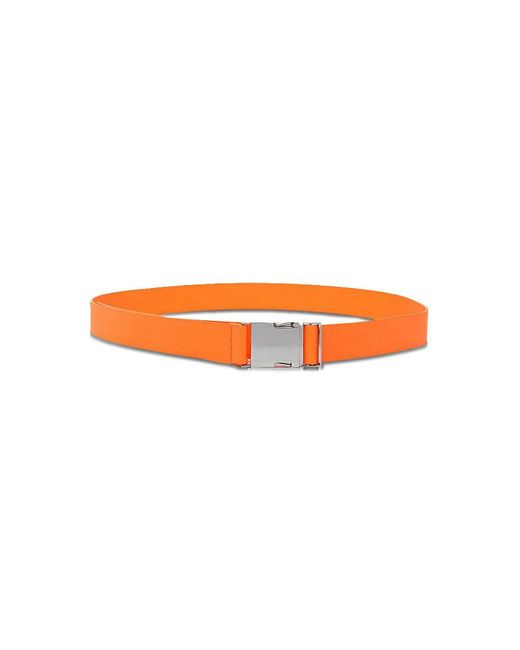 Forever 21 - Orange Faux Leather Belt - Lyst