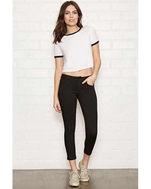 Forever 21 | Black The Beverly Low-Rise Jeans | Lyst