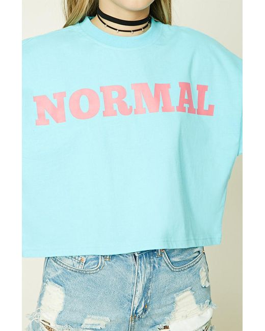 Tie Dye Rugrats Shirt Forever 21: Forever 21 Normal Graphic Tee In Blue