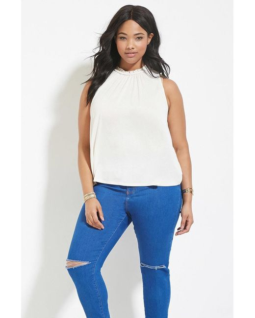Forever 21 | Multicolor Plus Size Braided Top | Lyst