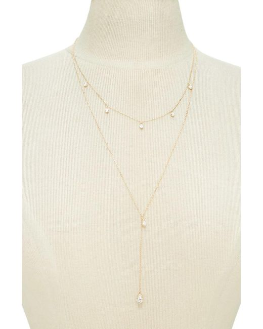 Forever 21 | Multicolor Layered Charm Necklace | Lyst
