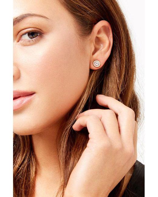Forever 21 - Metallic Rhinestone Stud Earrings - Lyst