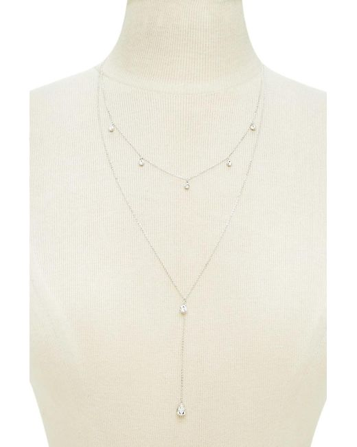 Forever 21 | Natural Layered Charm Necklace | Lyst