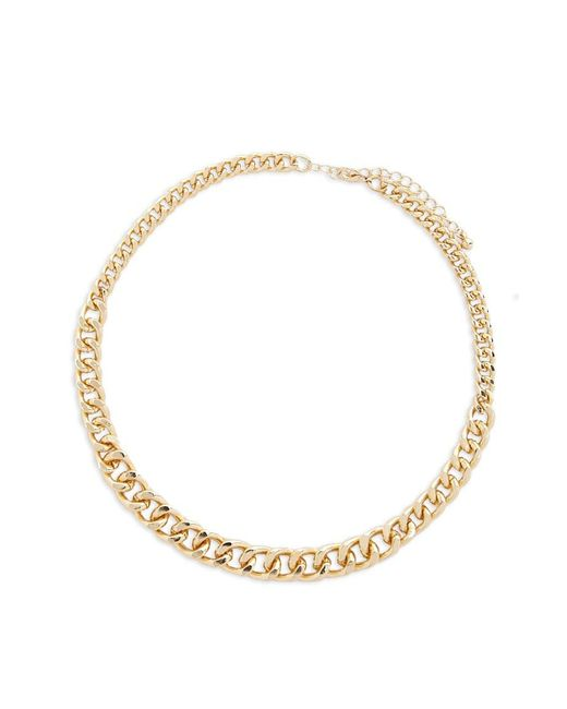 Forever 21 - Metallic Gradient Curb Chain Necklace - Lyst