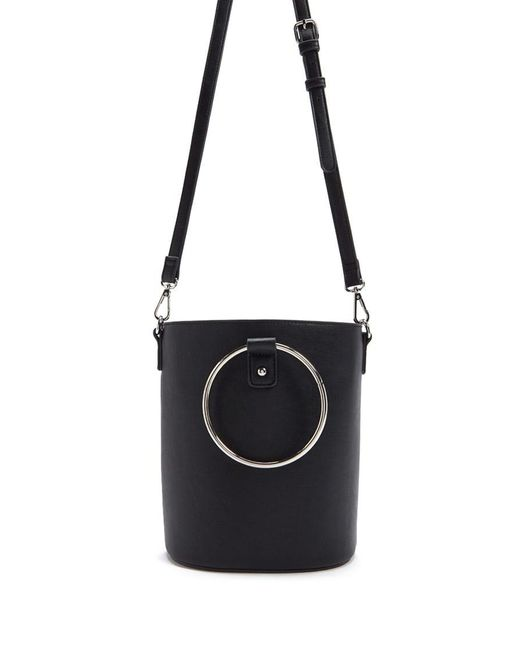 Forever 21 - Black Faux Leather Bag - Lyst