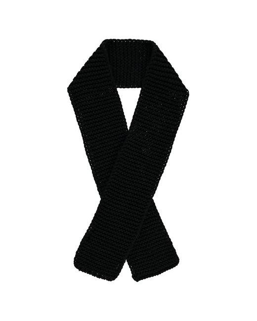 Forever 21 - Black Rectangular Knit Scarf - Lyst