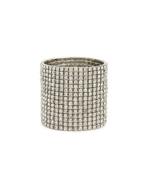 Forever 21   Metallic Rhinestone Stretch Bracelet   Lyst