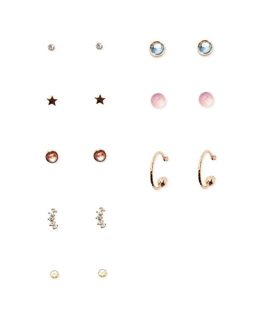 Forever 21 | Metallic Star & Hoop Earring Set | Lyst