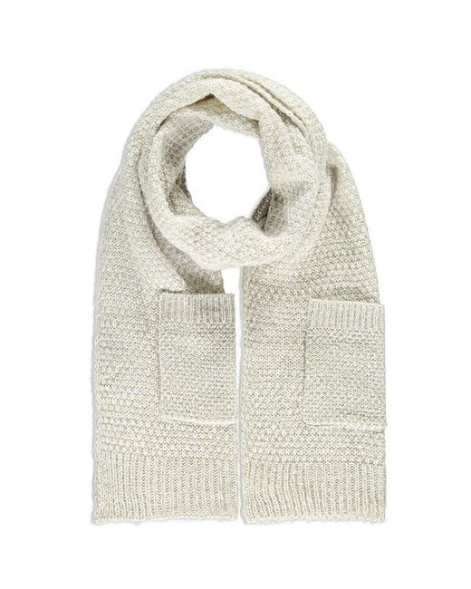 FOREVER21 - Natural Patch Pocket Scarf - Lyst
