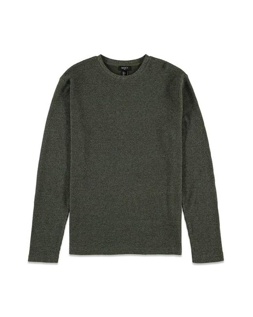 Forever 21   Green Classic Crew Neck Thermal for Men   Lyst