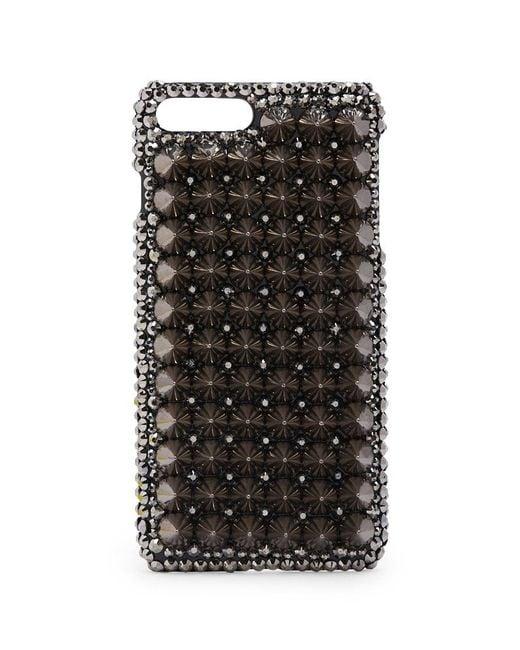 promo code 9903c fb514 Women's Metallic Spiked Phone Case For Iphone 7/8 Plus