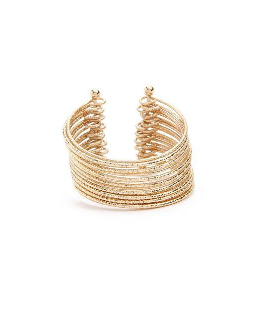 Forever 21 - Metallic Bangle Cuff Bracelet - Lyst