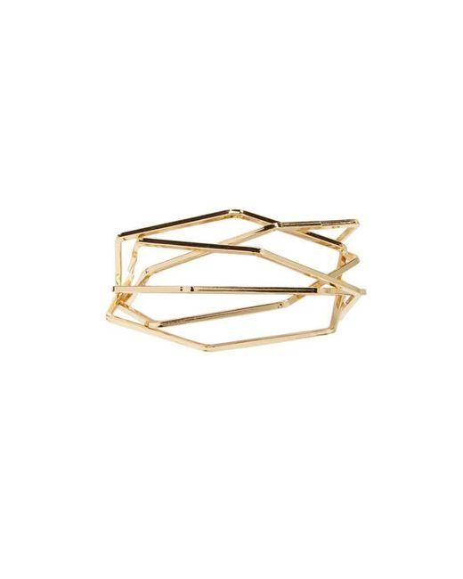 Forever 21 - Metallic Hexagon Bangle Bracelets - Lyst