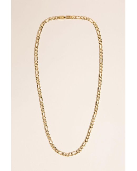 Forever 21 | Metallic King Ice Gold-plated Figaro Chain for Men | Lyst