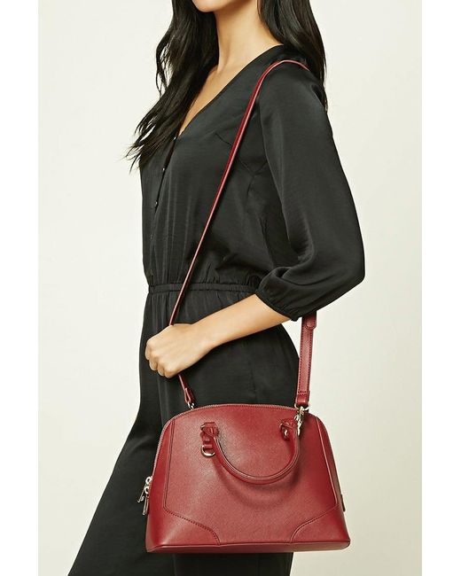 Forever 21 | Multicolor Faux Leather Satchel | Lyst