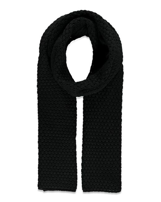 Forever 21 - Black Chunky Knit Scarf - Lyst