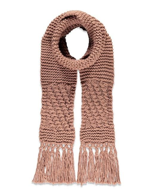 Forever 21 - Purple Chunky Ribbed Scarf - Lyst