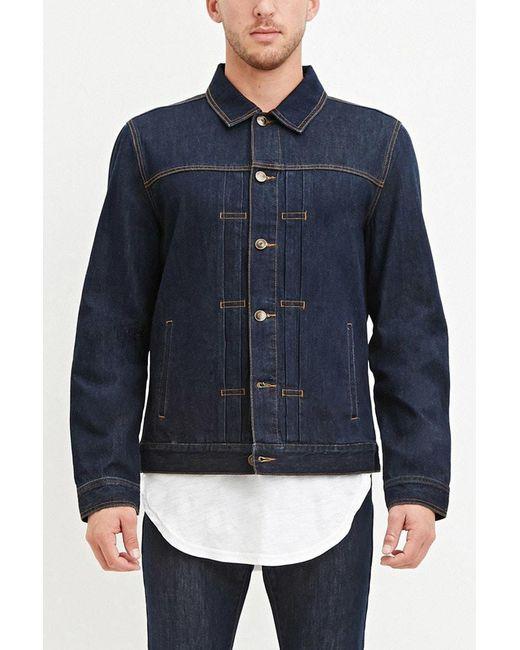 Forever 21 | Blue Classic Denim Jacket for Men | Lyst