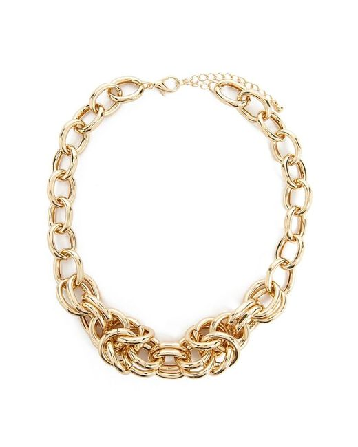 Forever 21 Metallic Women's Statement Chain Necklace