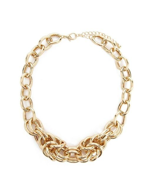 Forever 21 - Metallic Women's Statement Chain Necklace - Lyst