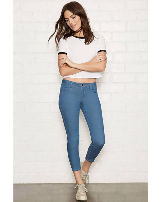 Forever 21 - Blue The Beverly Low Rise Jean - Lyst