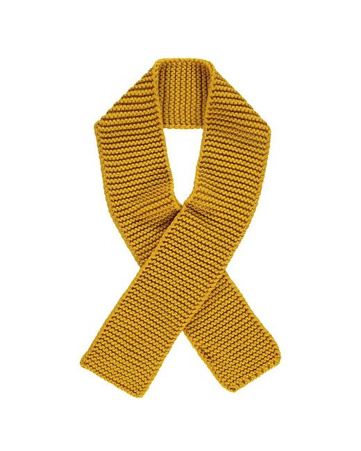 Forever 21 - Yellow Rectangular Knit Scarf - Lyst