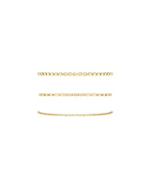 Forever 21 - Metallic Assorted Chain Bracelet Set - Lyst